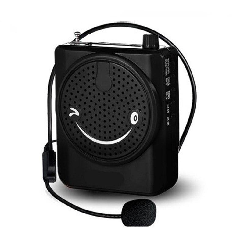 N708 con batería altavoz micrófono amplificador Booster megáfono para la enseñanza guía turística promoción de ventas Yoga