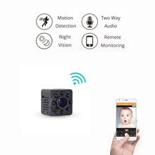 WIFI mini Camera 720P Night Vision for Home Wireless Security Surveillance ip Camera with Two Way Voice Intercom Cloud Storage