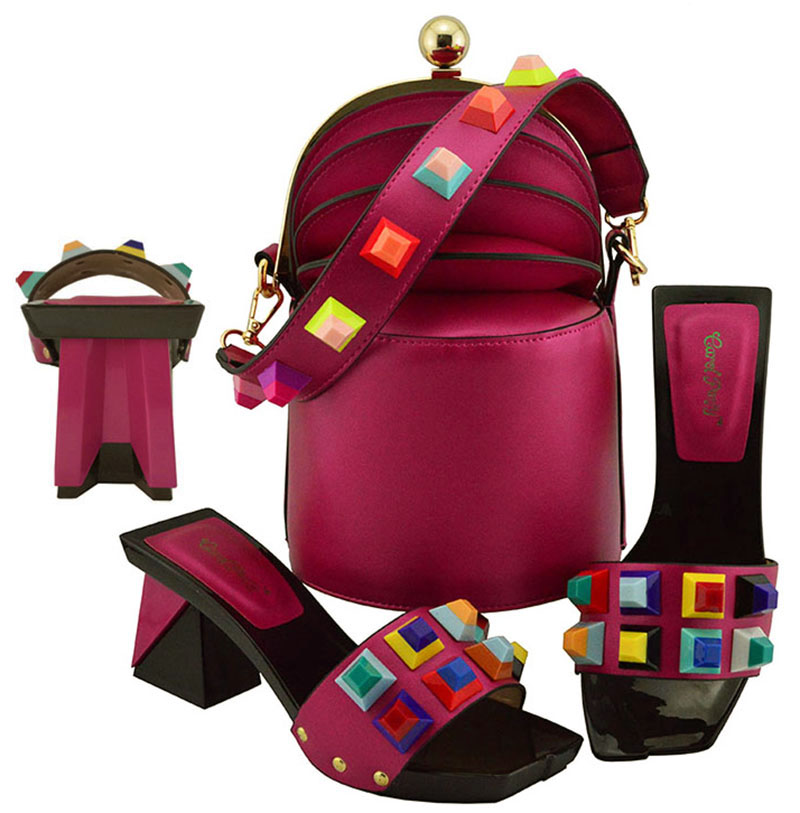 Italiano Y Africanas Juego Italia Bolsos Nuevo Bolsa A Estilo Las De Para Mujer Fiesta Con Zapatos Mujeres PxZZ5TnWz