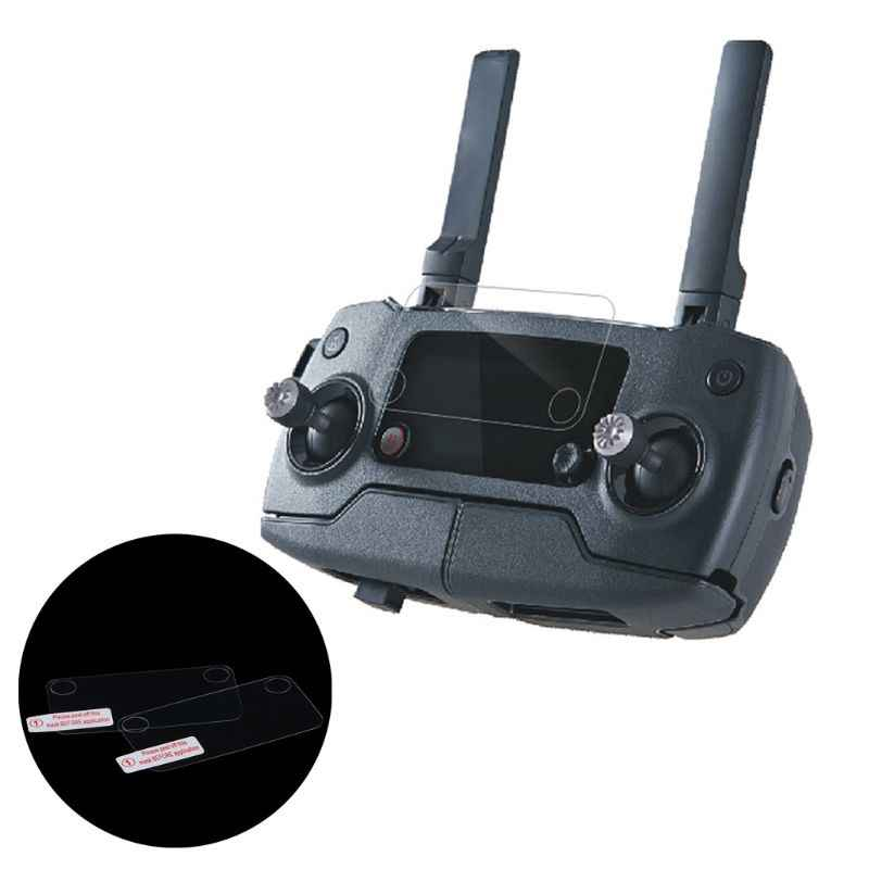 2x Remote Controller Screen Protective Film Dustproof For DJI Mavic2 Zoom/Pro
