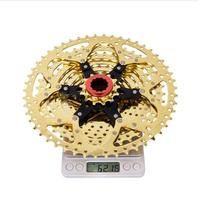 MTB 11Speed GOLD Cassette 11s 11 -50t Wide Ratio UltraLight Golden Freewheel Mountain Bike Bicycle Parts for gx XX1 m9000 Cheap