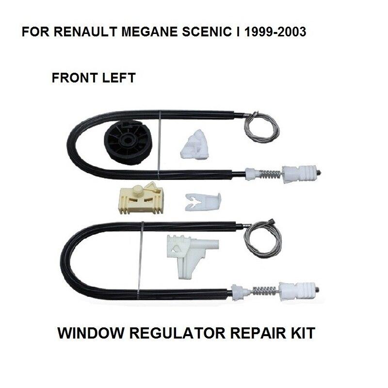 FOR RENAULT SCENIC I ELECTRIC WINDOW REGULATOR REPAIR KIT FRONT LEFT 1999-2003
