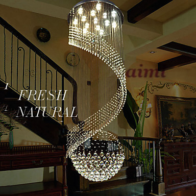 Høj kvalitK9 Cystal lysekrone pendelbelysning hængende loftslamper - Indendørs belysning - Foto 5