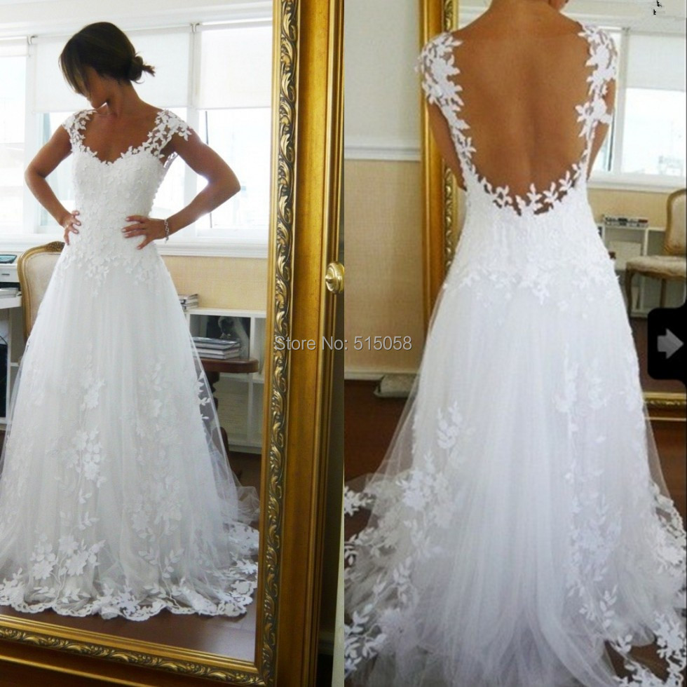 Compare Prices on White Lace Boho Wedding Dress- Online Shopping ...