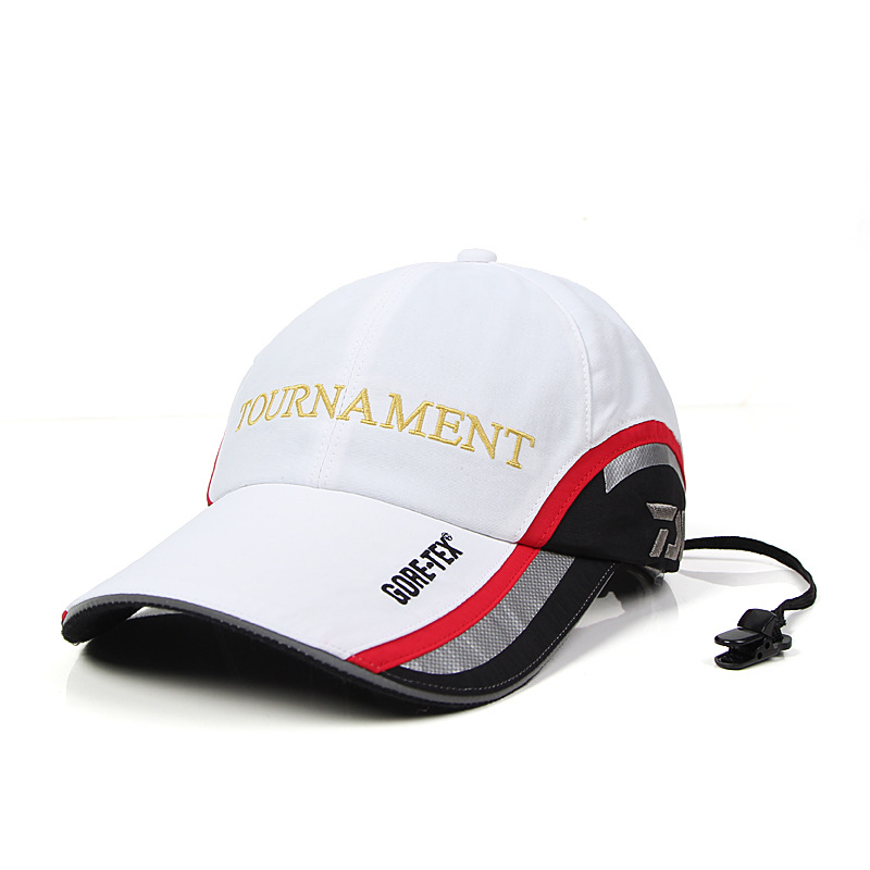 2018 New Daiwa Adjustable Sun Visor Hat Waterproof Quick Dry Breathable Sports Fishing Cap Unisex Sun Protcet Baseball Cap sterbakov unisex embroidery youth letter baseball cap men s