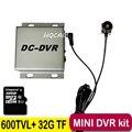 1CH mini camera kit mini dvr kit WD Model Portable Mini CCTV Surveillance 32G TF Card DVR + Mini Camera Car DVR Plug and Play