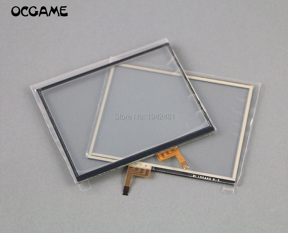 OCGAME For 3DS Touch Screen Digitizer Replacement Part With High Quality 2PCS/LOT