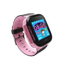 Горячие дети анти-потерянный gps умные часы подарок для детей SOS вызова расположение наручные часы студентов Безопасный гвардии часы Прямая доставка