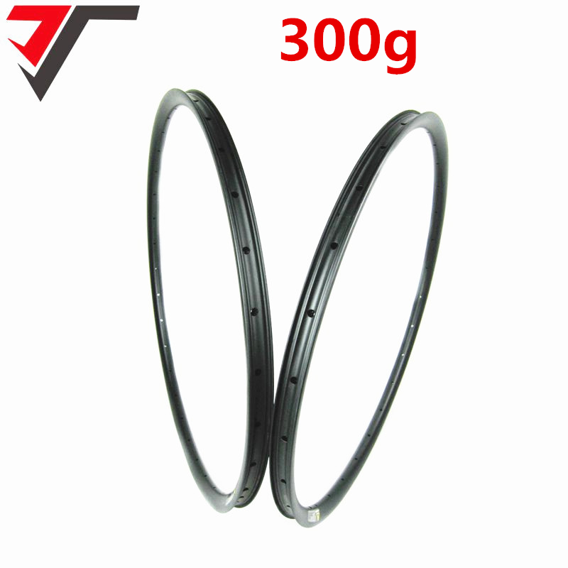 TRIPS flyweight 300g only carbon mtb 29er 28mm rim XC mountain bicycle carbon rim tubeless carbon