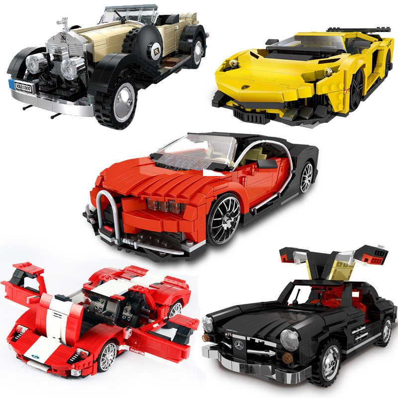 Blocos de construção caber legoinglys 825 pces série técnica photpong super carro de corrida modelo moc criador tijolos brinquedos para presentes adultos