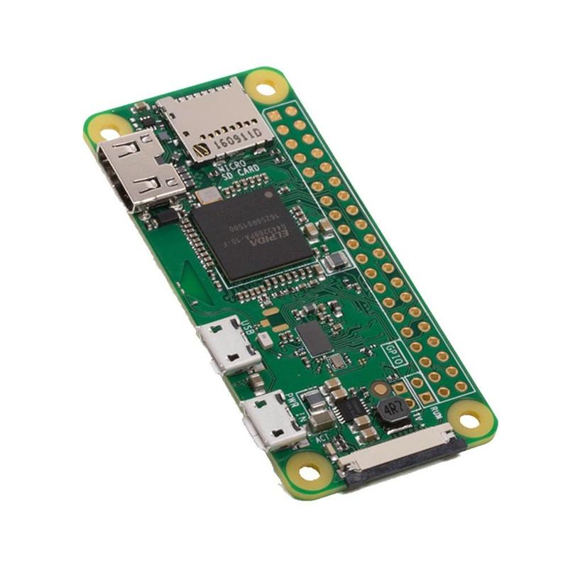 Prix pour Nouveau RPI0 Framboise Pi Zéro W Sans Fil Pi 0 avec WIFI et Bluetooth 1 GHz CPU 512 MB RAM Linux OS 1080 P HD livraison gratuite