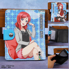 Anime Lovelive High Quality Synthetic Leather Short Exquisite Wallet/Nishikino Maki Button Purse