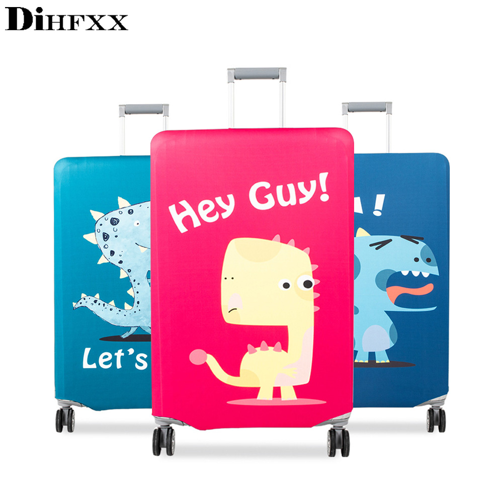 New Suitcase Cover Protector Elastic Thicken Travel Dust Bag Baggage Luggage Covers Accessories Protective Case For The Suitcase