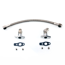 Kinugawa Turbo Oil Drain Line Kit 50cm 8AN for Garrett GT28 GT30 GT35