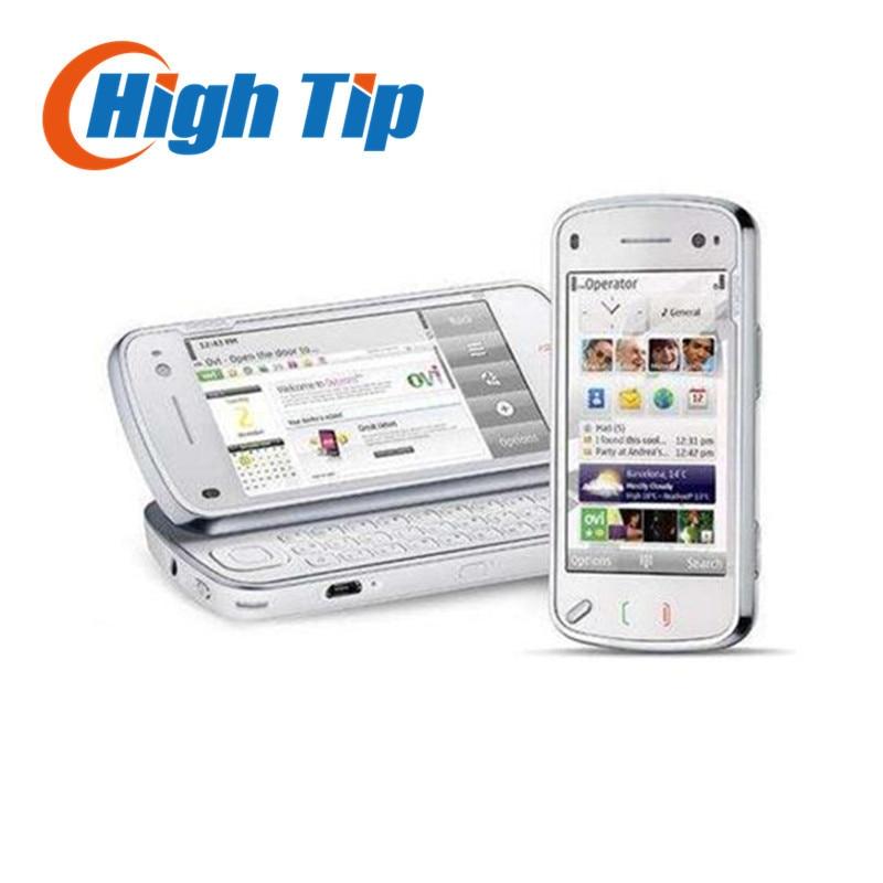Цена за Nokia бренд n97 100% первоначально открыл мобильный телефон gps 3 г wi fi 5 мп камерой 32 ГБ встроенной памяти восстановленное бесплатный доставка