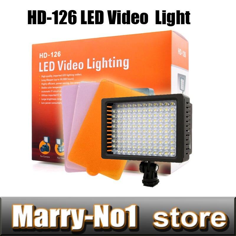 새로운 HD - 126 LED가 비디오 램프 조명 카메라 조명 - 카메라 및 사진