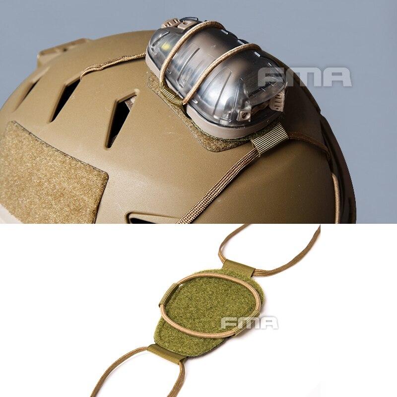 Тактический шлем FMA С КРЕПЕЖНОЙ накладкой для шлема HEL-STAR 6 и HEL-STAR F2 аксессуар для наружного шлема для спасательных огней