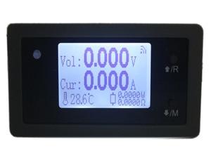 Image 1 - סידורי נתונים דיגיטלי DC 150V 15A מתח הנוכחי כוח מטר מדחום שעון שמש AGV רכב Battey קיבולת Tester