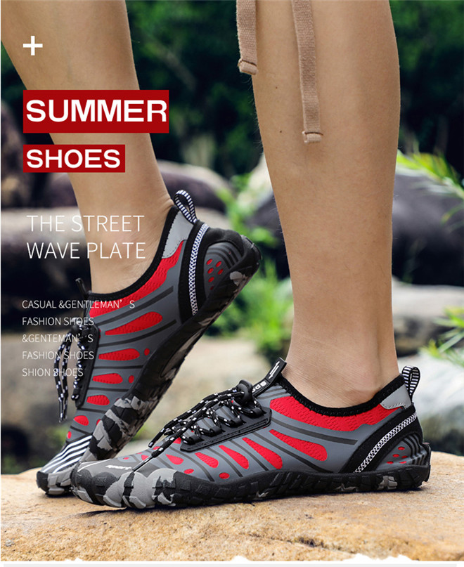 Unisex Swimming shoes Water Shoes Bicycle Seaside Beach Surfing Slippers Skiing Outdoor Five Finger Soft Fitness Light Shoes (16)