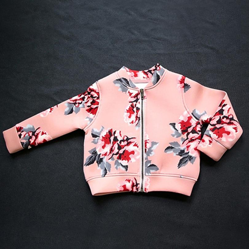 Qız palto 2019 İsti Satış Bahar Qız geyimləri Gül - Uşaq geyimləri - Fotoqrafiya 4