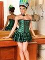 2015 Горячие Продажа Женщины Корсет с юбки кружева корсет с юбкой корсет платье для балета сексуальный костюм