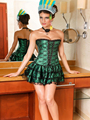 2015 Hot Sale Women Corset with tutu skirt lace corset with skirt corset dress for ballet sexy suit