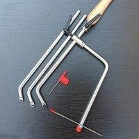 Деревообработка Роторный Ручной токарный станок токарный нож из алюминиевого сплава ручка или деревянная ручка