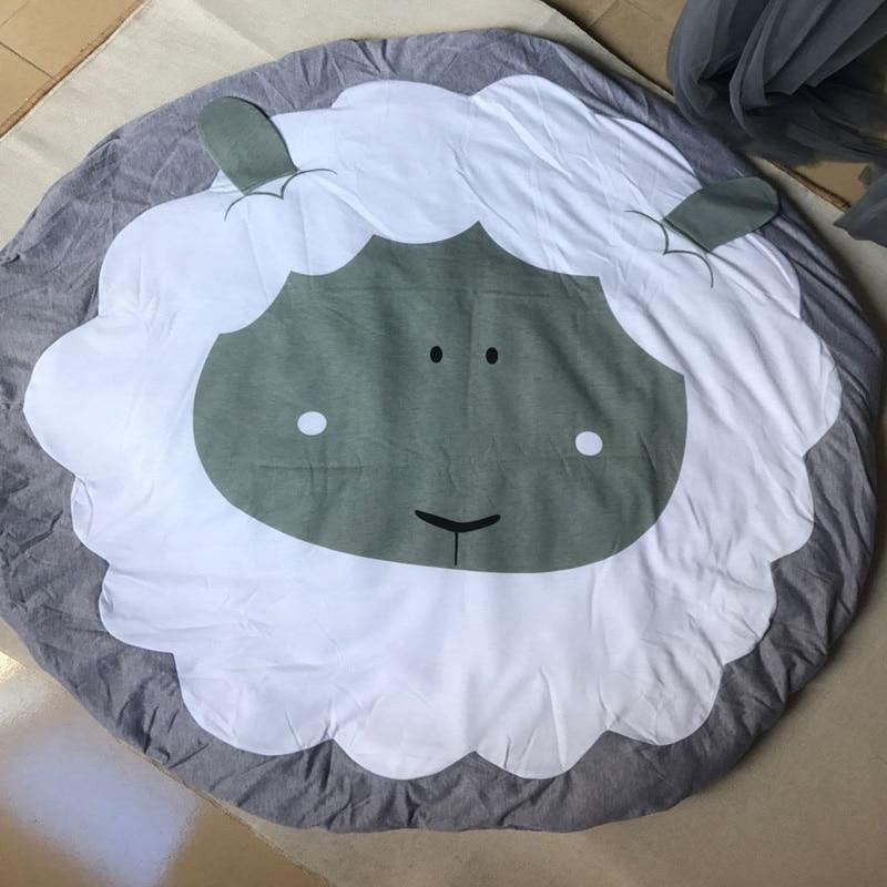 koc niemowlęcy noworodek owca dziecięca koc dla niemowlaka zagraj - Pościel - Zdjęcie 2
