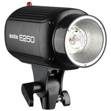 Hot speedlite flash Godox E250 Pro Photography Studio Strobe Photo Flash Light 250W Studio Flashgun 220V