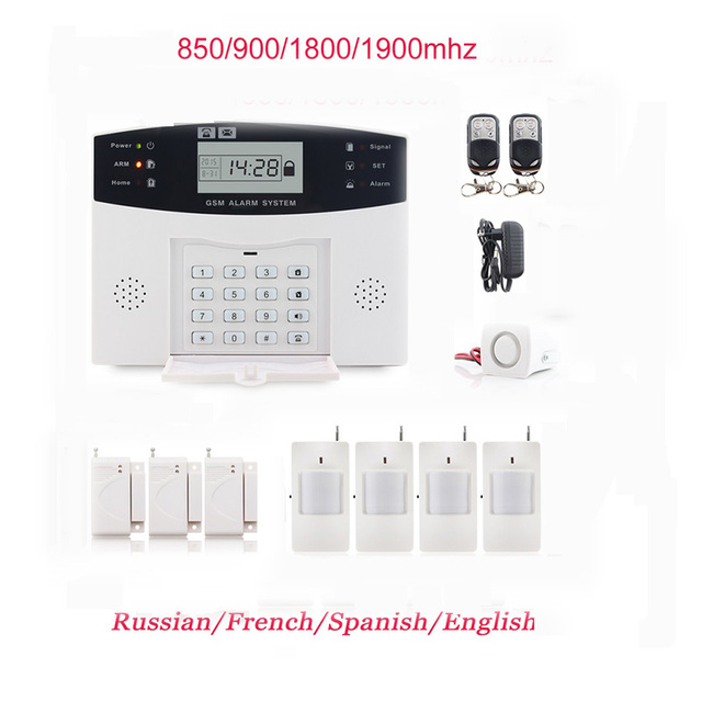 2016 hot style wireless gsm alarm manual system home security with rh aliexpress com honeywell smart home security manual defiant home security manual