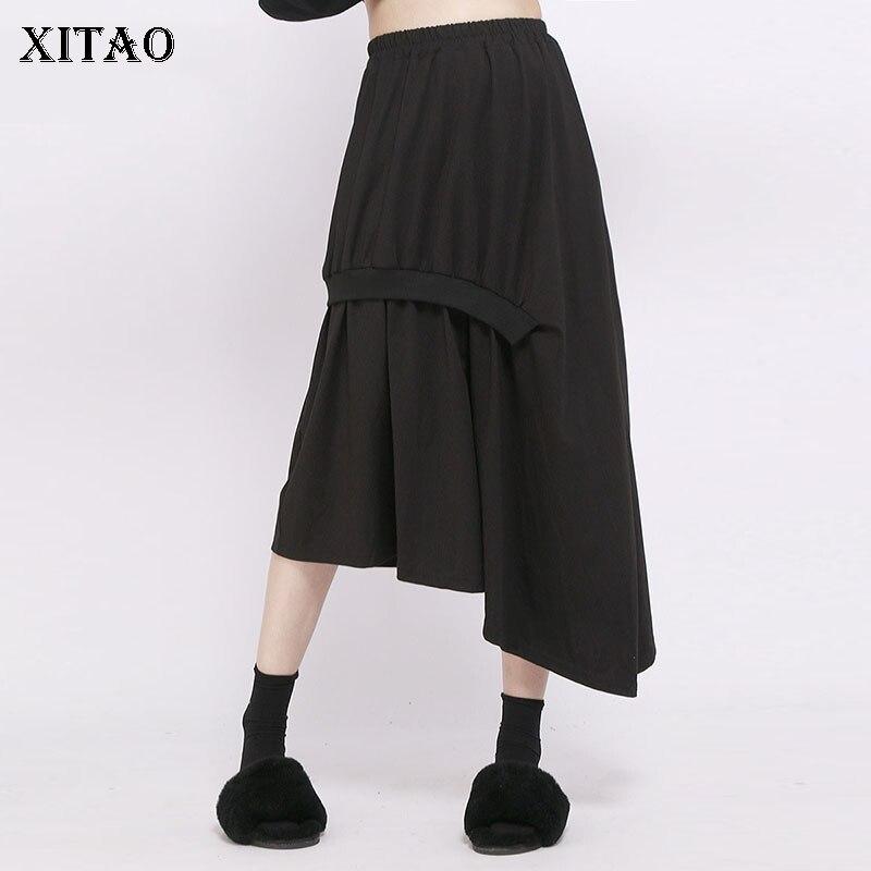 57548d73084 XITAO-nouveaut-Femmes-2018-Automne-Cor-e-De-Mode-A-ligne-jupe -d-contract-e.jpg