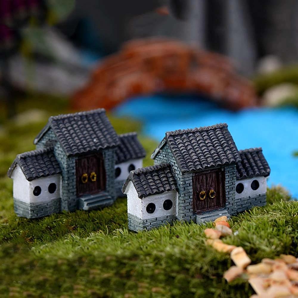 DIY Miniature Fairy Garden Lawn Ornament Decor Pot Dollhouse Craft Accessories