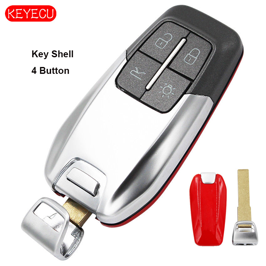 Keyecu Smart Luxury Remote Key Shell 4 Button for Ferrari 458 588 488GTB LaFerrari No LogoKeyecu Smart Luxury Remote Key Shell 4 Button for Ferrari 458 588 488GTB LaFerrari No Logo