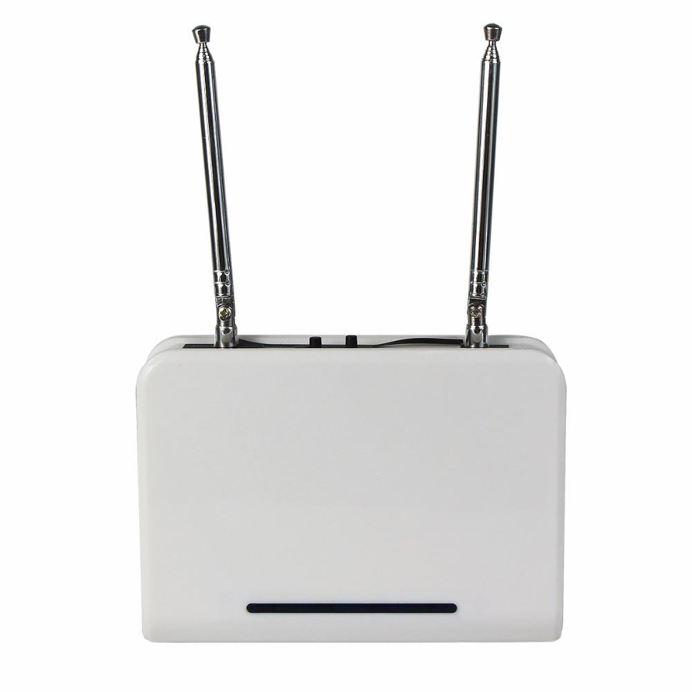 433.92 MHz RF repetidor Amplificadores código aprendizaje extender para  inalámbrico llamada Sistema de paginación restaurante pager f3302b cfe21914ebe
