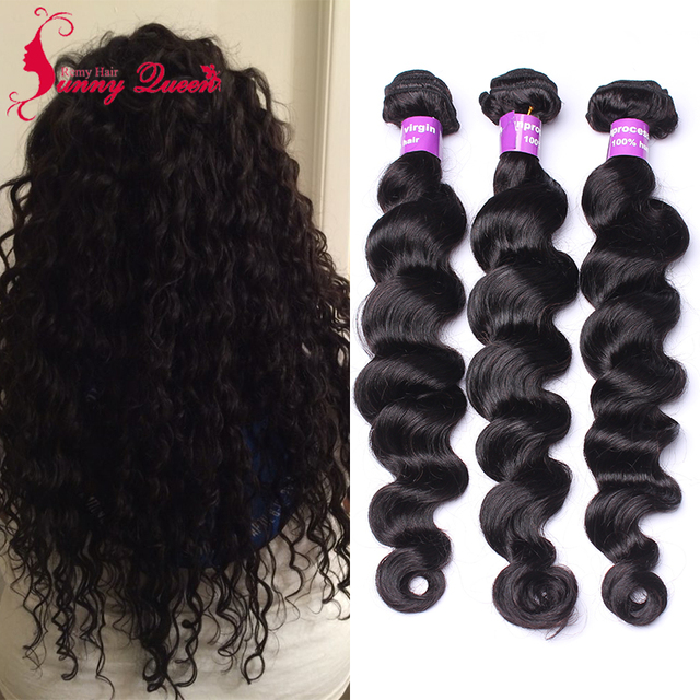 Aliexpress Buy 4 Pcs Virgin Filipino Loose Wave Hair