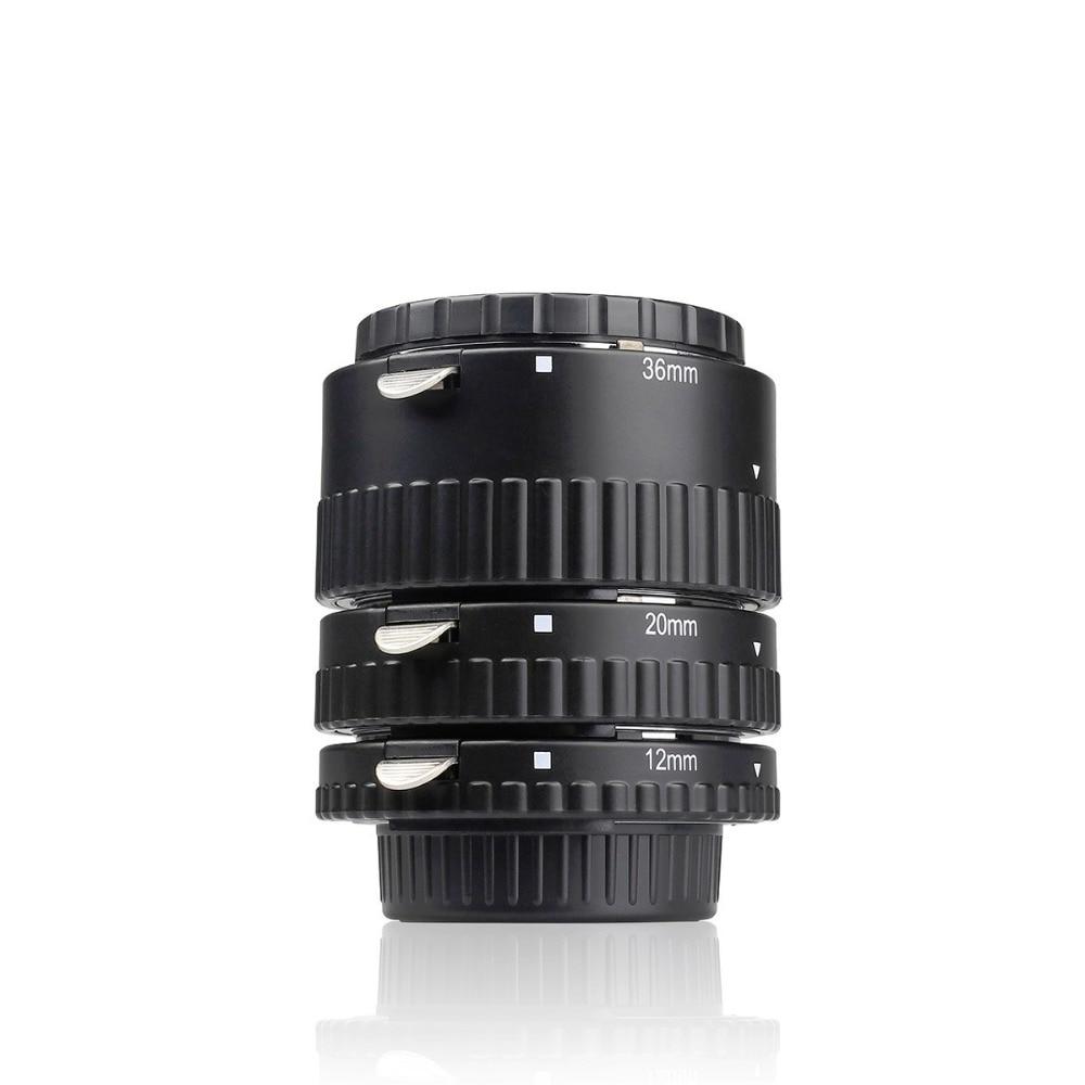 Meike N-AF-A Autofocus D'extension Macro Anneau de Tube pour Nikon D60 D90 D3000 D3100 D3200 D5000 D5100 D5200 D7000 D7100 Caméra DSLR - 5