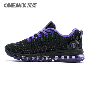 ONEMIX FASHION Women Reflective Uppers Casual Shoes Men Air Trail Trainers Lightweight Walking Sneakers