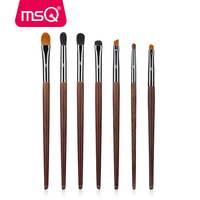 MSQ 7pcs Makeup Brushes Set High Quality Blending Eyeshadow Lip Make Up Brush Set With Case