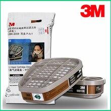 2 PIÈCES/4 PIÈCES/5 pièces/9 pièces 3M 6001cn Vapeur Organique Respirateur Filtre Cartouche Pour 3M 7502 6200 Masque à gaz