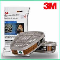 2PCS/4PCS/5pcs/9pcs 3M 6001cn Organic Vapor Respirator Filter Cartridge For 3M 7502 6200 Gas Mask