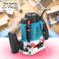 30000RPM 1600W 6/8mm Laminator Wood Router Hand Trimmer Electric Trimming Joiners With Variable Speed For Woodworking Cutting