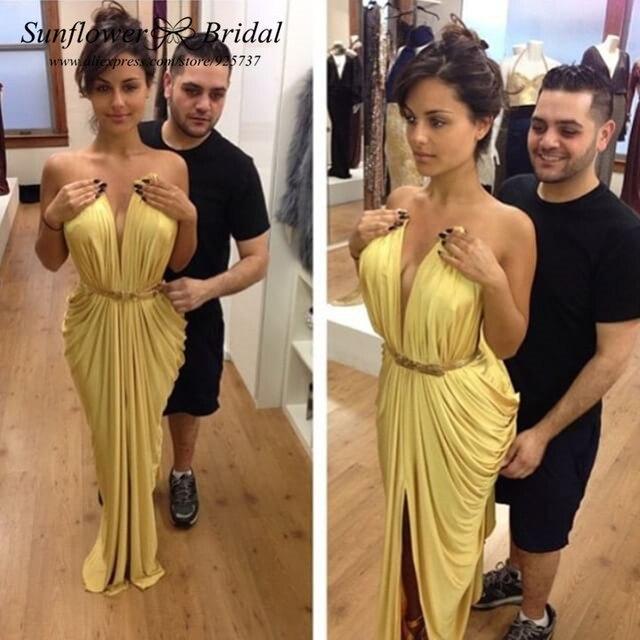 Gold long dresses ebay – Dress blog Edin