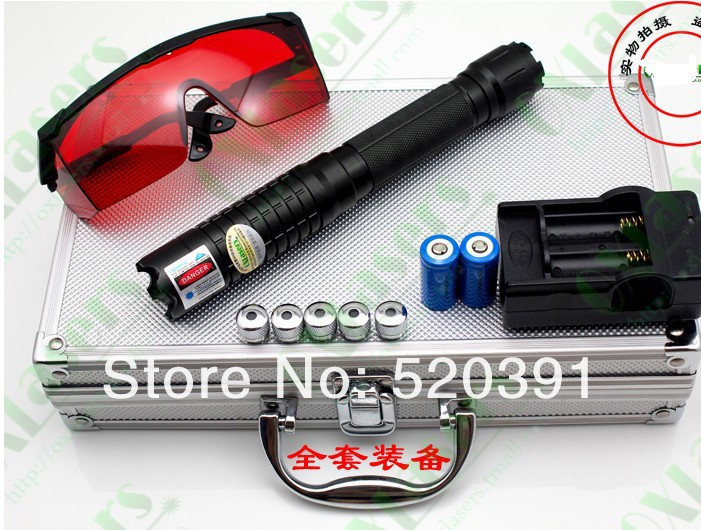 High power Blue laser pointers 100000mw 100w 450nm Burning match/paper/dry wood/candle/black/cigarettes+Glasses+changer+Gift box new green laser pointers 20000mw 20w 532nm adjustable burning match changer box free shipping camping signal lamp hunting
