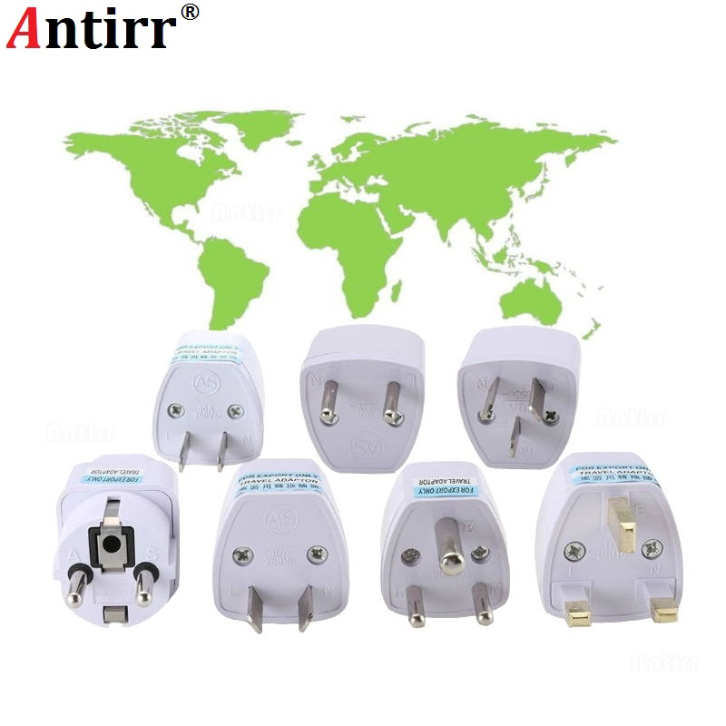 Universal International Travel Wall Charger Adapter Converter UK US AU EU Germany CN USA EURO Europe AC Power Socket Plug Phone