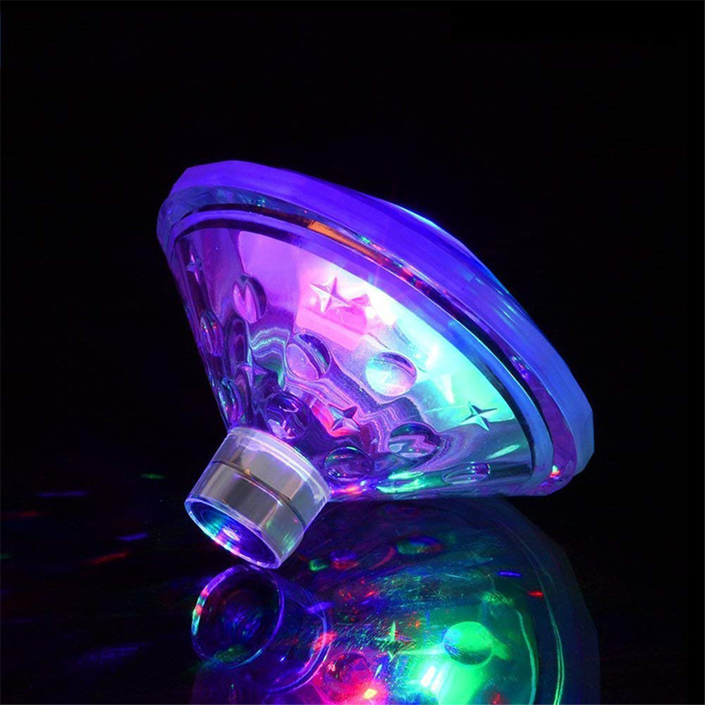 Battery Powered Floating Underwater LED Disco Light Glow Show Swimming Pool Hot Tub Spa Lamp Colorful Bathtub Lights Pool LightsBattery Powered Floating Underwater LED Disco Light Glow Show Swimming Pool Hot Tub Spa Lamp Colorful Bathtub Lights Pool Lights