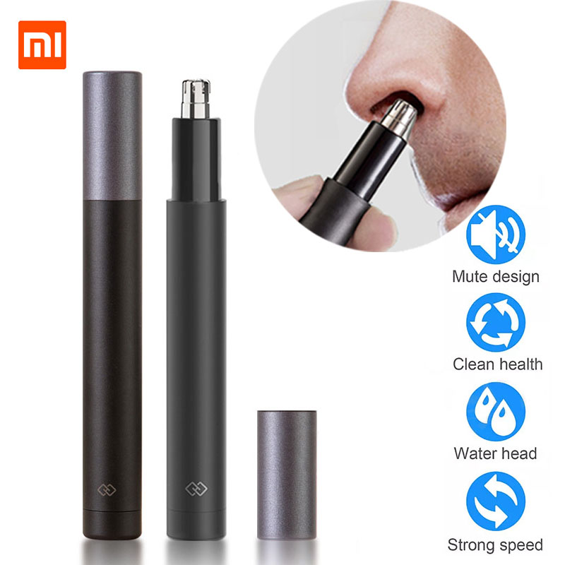 Xiaomi Mijia Electric Mini Nose Hair Trimmer HN1 Portable Ear Nose Hair Shaver Clipper Waterproof Safe Cleaner Tool For Men M56