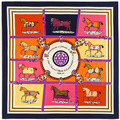 2016 hot sale luxury brand silk scarf women shawl h cachecol horse scarves pashmina bandanas femme bufandas poncho free shipping