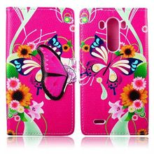 New Arrival Funny Cute Fashion Wallet Flip Style PU Leather Case For LG G3 D855,D851,D850,VS985 Phone Bag Cover Card Holder