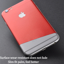 Durable PVC iPhone Sticker For iPhone 8 6 6S 7 Plus Back Protector Film