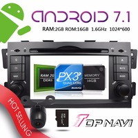 TOPNAVI 7'' Android 7.1 Vehicle Bluetooth Device for KIA Mohave Borrego 2008 2009 2010 Car Wifi Mirror Link free 3G Map Update